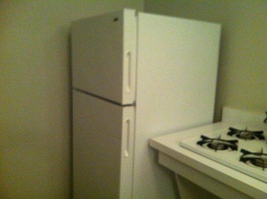 State Plaza Hotel: refrigerator