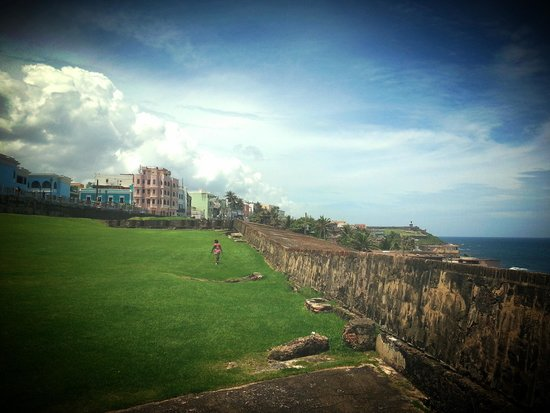 Site historique national de San Juan : the fort