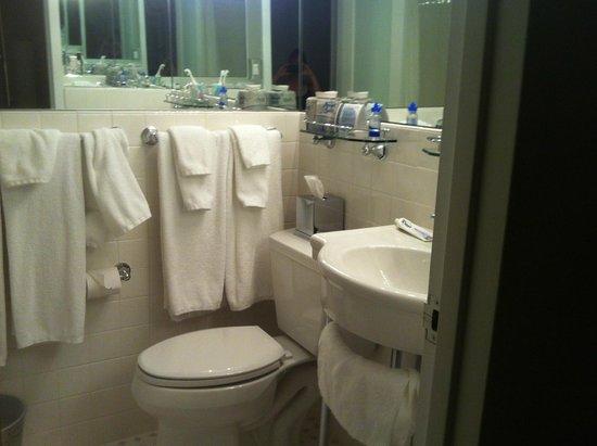 State Plaza Hotel : bathroom