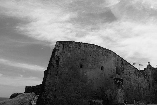 San Juan National Historic Site: fort