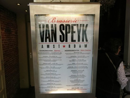 Van Speyk: Experience the local cuisine of the Netherlands