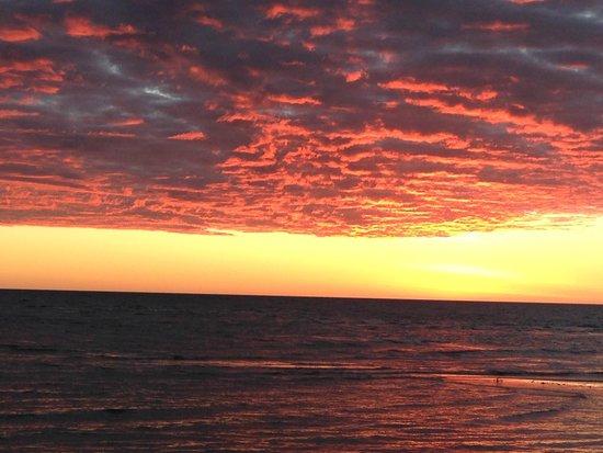 Hotel Arc en Ciel: tramonto