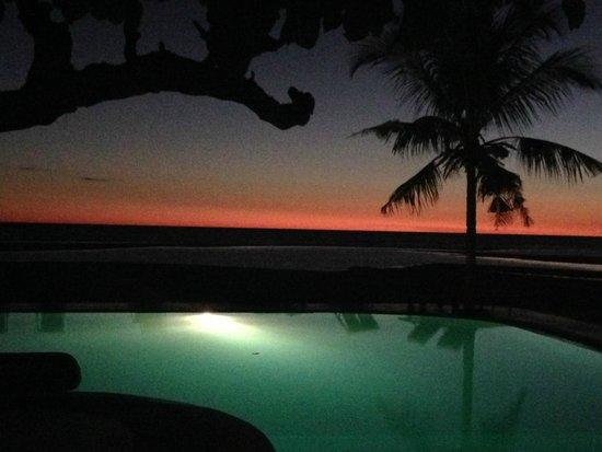 Hotel Arc en Ciel : tramonto