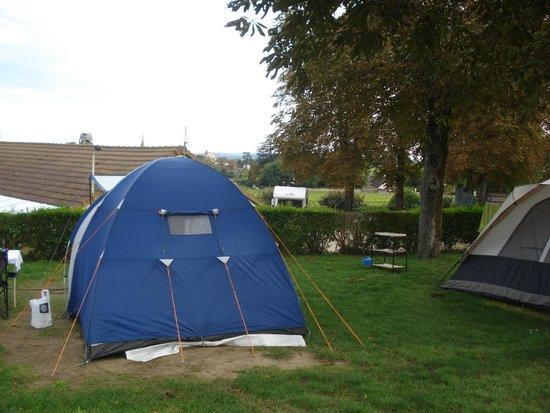 Camping La Grappe d'Or: Parcelas