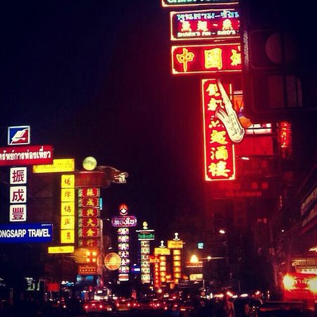 Shanghai Mansion Bangkok: Road hotel is situated on