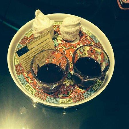 Shanghai Mansion Bangkok: Welcome Tea