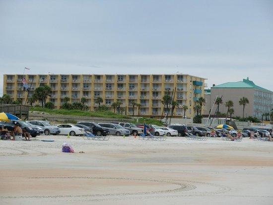 Fountain Beach Resort: vom Strand aus gesehen