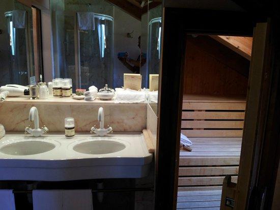 Bellevue Hotel & Spa : La sauna