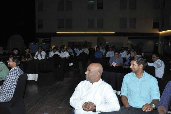 Aloft Bengaluru Whitefield : My guests enjoyed the ambiance