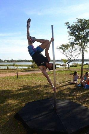 Lagoa Maior: Pratique todos os tipos de esporte.