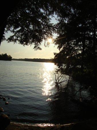 Murphys Point Provincial Park: Sunset