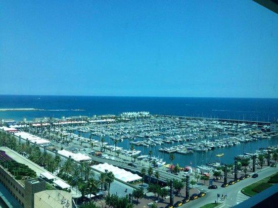 Hotel Arts Barcelona: vista d quarto - andar 14