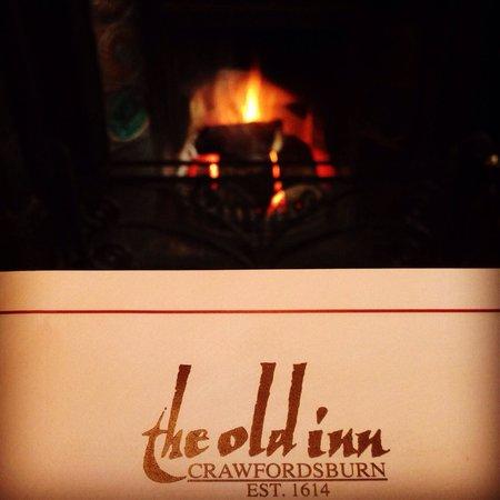 The Old Inn Crawfordsburn: That fire!