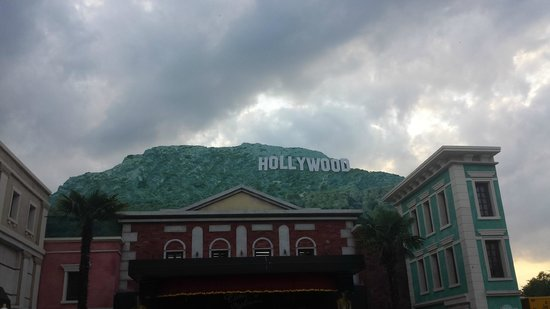 Movieland Park: Would you know this is not in Hollywood actually ? But in Italy ?