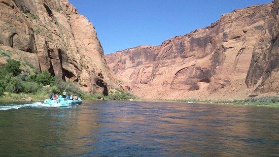 Colorado River Discovery: durante la navigazione