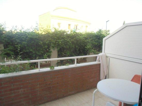 Gran Garbi Mar : Blick vom Balkon des Zimmers