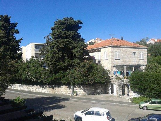 Dubrovnik Summer Apartments: La veduta