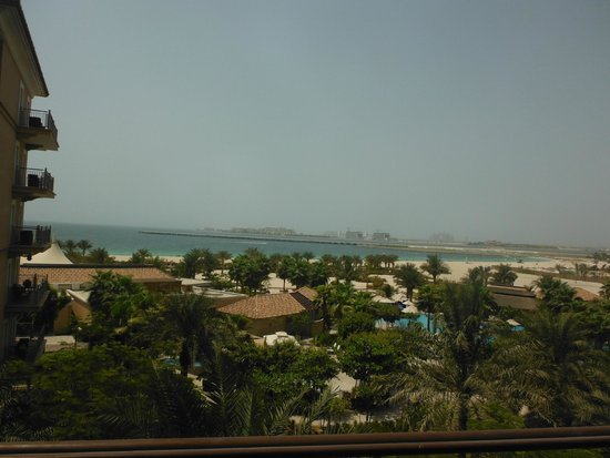 The Ritz-Carlton, Dubai: View from balcony