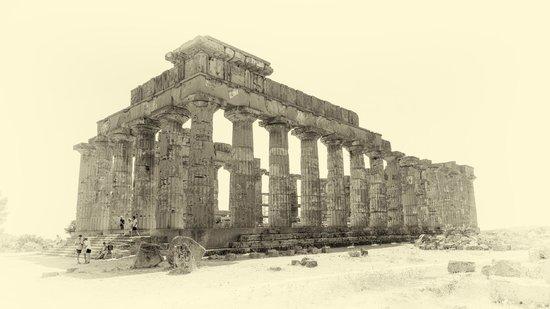 Selinunte : Templo