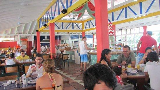 Decameron San Luis: Comedor