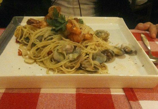 Peperoncino: Spaghetti alle vongole