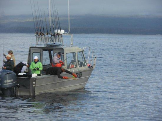 S.E. Alaska Outdoor Adventures: Captain Paul Yanak with there father Bob Yanak