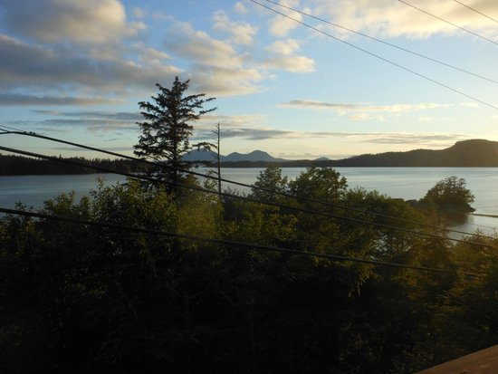S.E. Alaska Outdoor Adventures: View from the lodge