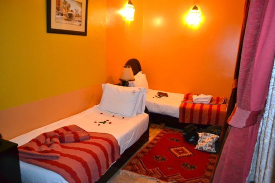 Les Borjs de la Kasbah: Twin single room