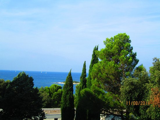 Hotel Delfin: vista dal balcone