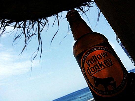 Perissa Beach: Местное пиво
