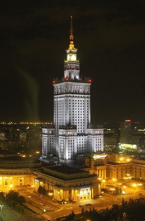 Warsaw Marriott Hotel : Fabulous view from my room!