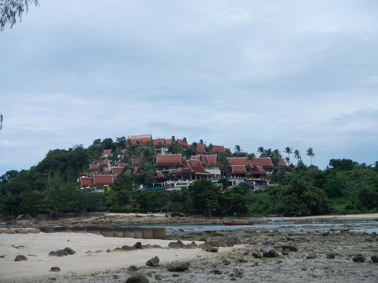 Q Signature Samui Beach Resort: View of hotel from beach area