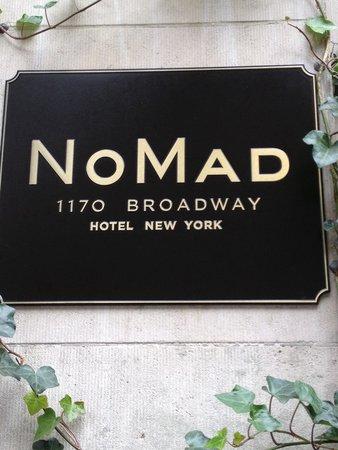 The NoMad Hotel : NoMad