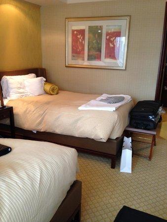 Conrad Hong Kong: bed