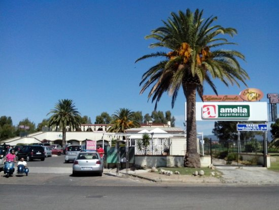 Capitana, Italie : Le supermarché