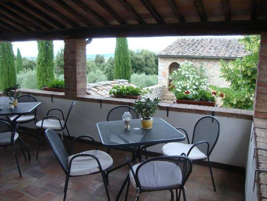 Borgo Gallinaio: small terrasse