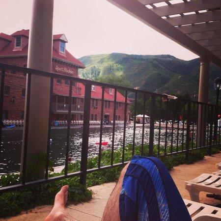 Glenwood Hot Springs Pool: So pretty!