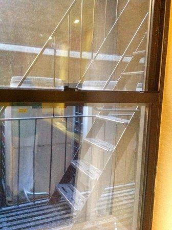 Hotel Stanford : De brandtrap