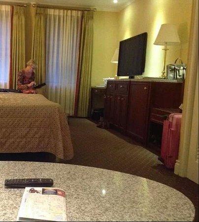 Hotel Stanford : de kamer