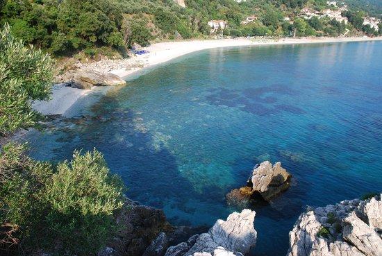 Vergopoulos Oliveyard: plage de Papa Nero
