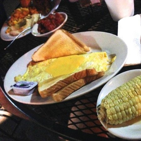 Mel's Cafe: Not much for vegetarians