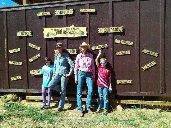 KB Horses : Tina, April, Shannon, and Michael