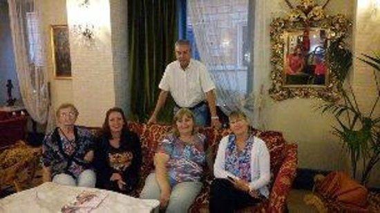 Hotel Andreotti : foto sacada en la sala de estar, muy buena.
