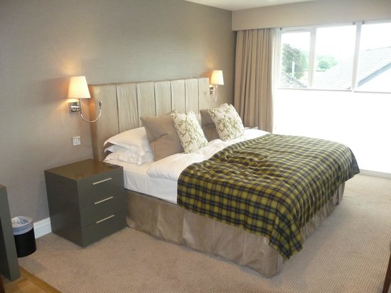 Holbeck Ghyll Country House : Comfortable bed