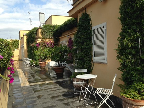 Capo d'Africa Hotel: Roof terrace