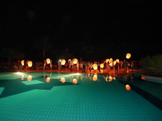 Hotel Conte di Cabrera : soiree lanterne