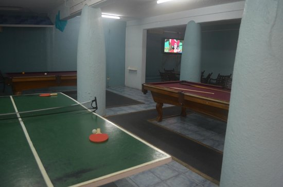 Jolly Beach Resort & Spa: games room