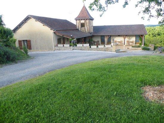 Domaine de la Rhonie : vue de l'établissement