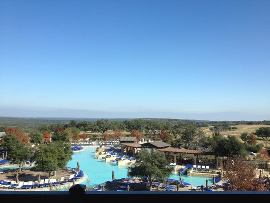 JW Marriott San Antonio Hill Country Resort & Spa : lazy river/property
