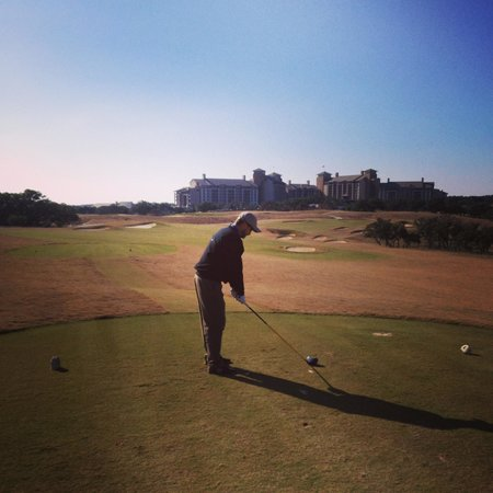 JW Marriott San Antonio Hill Country Resort & Spa : golf on property